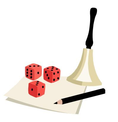 Bunco Dice Clip Art http://ourstonecreek.net/Bunco~317524~20348.htm